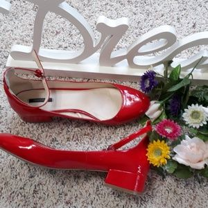 Cute Red Forever 21 Women Shoes